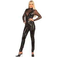 ledapol 1019 lakk catsuit - vinyl overall fetish