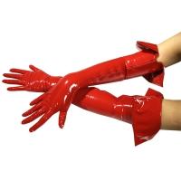 ledapol 1062 lakk hansker - vinyl hansker fetish