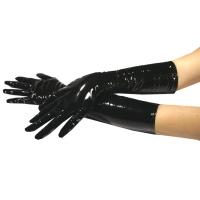 ledapol 1082 lakk hansker - vinyl hansker fetish