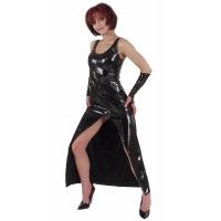 ledapol 1117 lakk kjoler - vinyl lange kjoler fetish