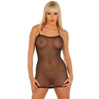 ledapol 1215 netting kjole - kvinners kjole - sexy lingerie