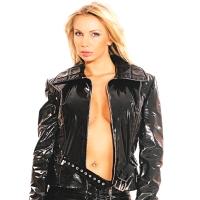 ledapol 1272 lakk jakke - vinyl jakke fetish