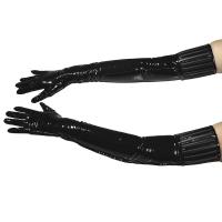 ledapol 1408 lakk hansker - vinyl hansker fetish