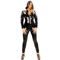 ledapol 1451 lakk catsuit - vinyl overall fetish