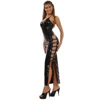 ledapol 1530 lakk kjole - vinyl lange kjol fetish