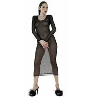 ledapol 1588 netting kjole - kvinners kjole - sexy lingerie