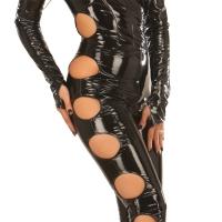 ledapol 1621 lakk catsuit - vinyl overall fetish