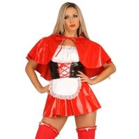 ledapol 1750 lakk mini kjole - korte vinyl kjol fetish