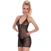 ledapol 1841 netting kjole - kvinners kjole - sexy lingerie