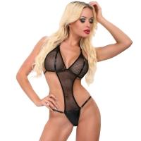 ledapol 1857 netting undertøy - kvinners nettingbody - sexy lingerie