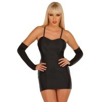 ledapol 3003 stretch kjole - stoffer mini kjoler - sexy kjole