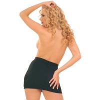 ledapol 3008 sexy stretch mini skjørt - stoffer kvinners skjørt
