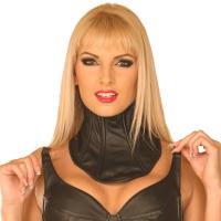 ledapol 5499 lær halskorsett  - kvinners halskorsett