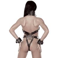 ledapol 5578 lær underbukser - sele body damer