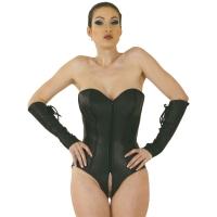 ledapol 5606 lær body - kvinners body