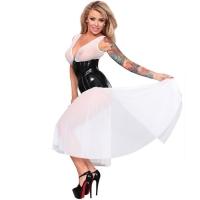 ledapol 9129 tulle kjole - sexy kjole
